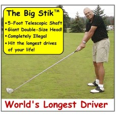 5-Foot Long Telescoipc BIG STIK with Illegally-large head, $100 Discount This Month ($499 - $100 = $399)
